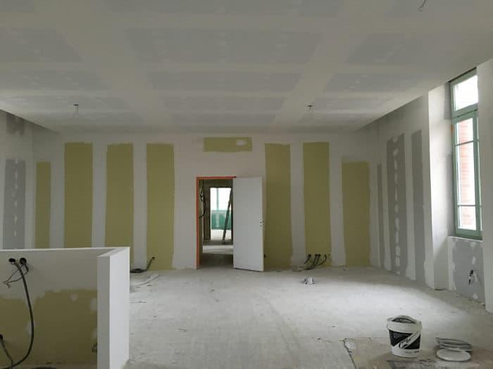 R novation d 39 un ancien h pital transform en appartements de luxe lyon artech joint - Appartement moderne ancien hopital ...