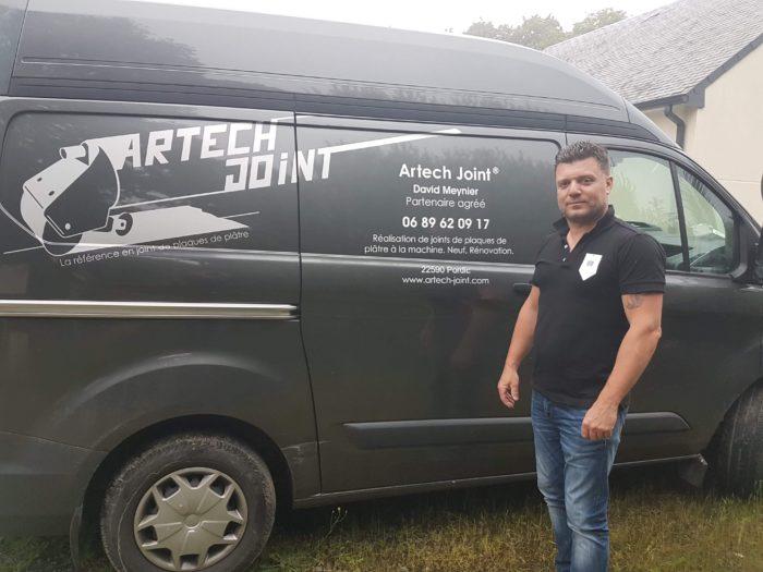 jointeur en Bretagne, David Meynier concessionnaire Artech Joint