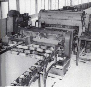 Chaine de fabrication placoplâtre