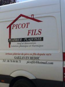 Plâtrier Plaquiste, entreprise Picot et Fils avec les joints Artech Joint