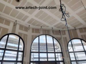 Artech Joint, jointeur au bazooka TapeTech sur la ville du Havre