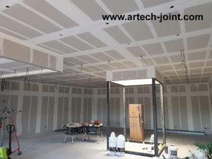 Jointeur de plaques de plâtre dans la ville du Havre, Morgan Merlin concessionnaire Artech Joint